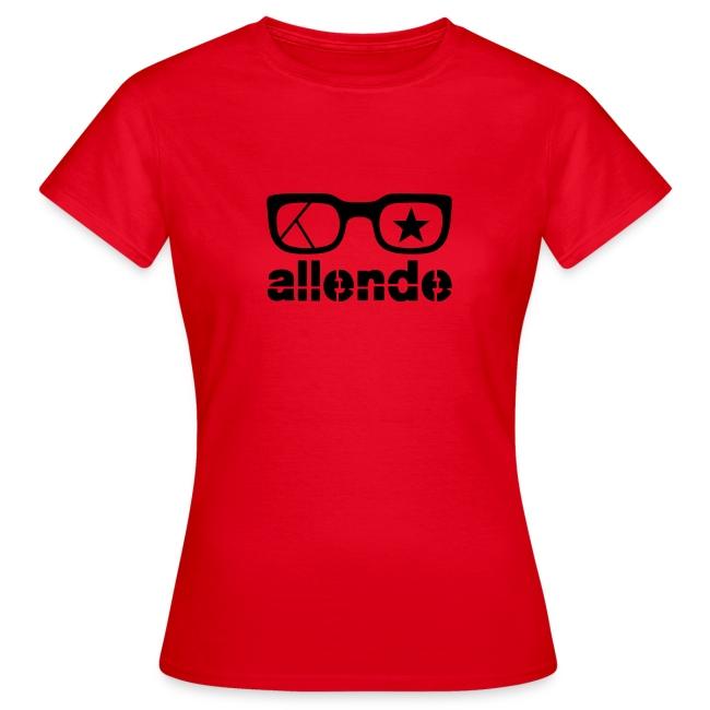 Salvador Allende Women's Tee Shirt