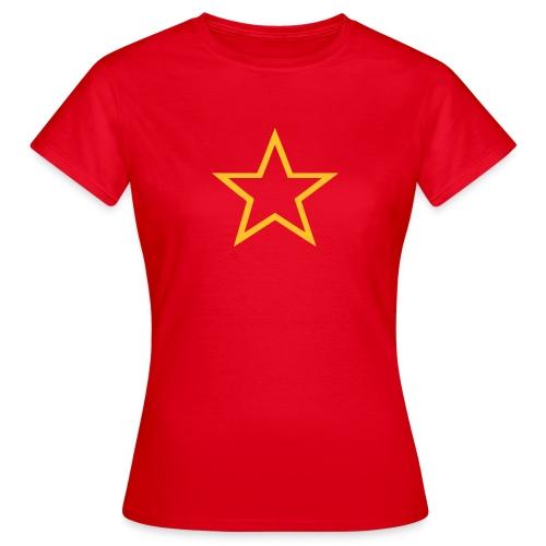 Red Army Star Women's Tee Shirt - Women's T-Shirt