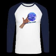 Langærmede t-shirts ~ Langærmet herre-baseballshirt ~ Langærmet baseball t-shirt, let out the magic