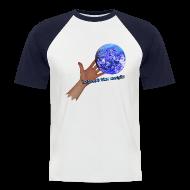 T-shirts ~ Kortærmet herre-baseballshirt ~ Baseball t-shirt, let out the magic