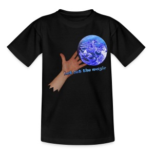 T-shirt børn, let out the magic - Teenager-T-shirt