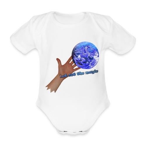 Babydragt, Let out the magic - Kortærmet babybody, økologisk bomuld