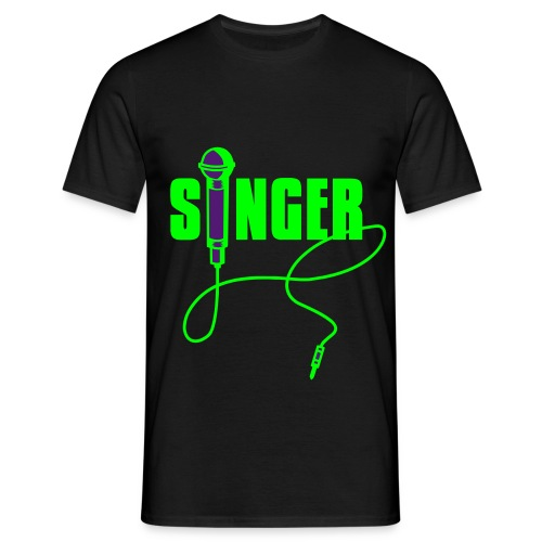 Men`s Singer Shirt - Men's T-Shirt