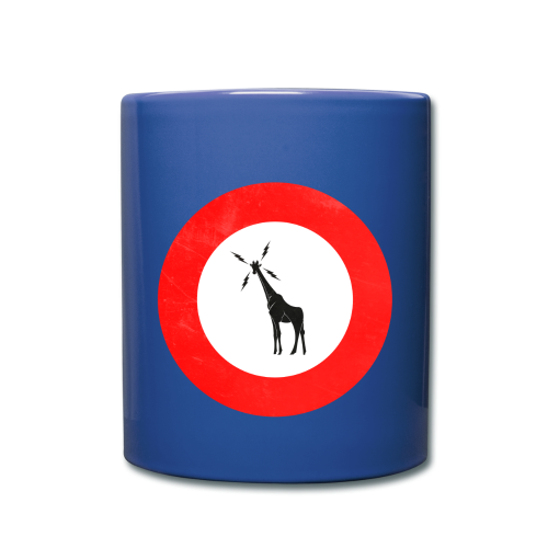 Unofficial GIRAFFE Roundel - Navy Blue Coffee - Full Colour Mug