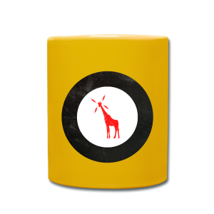 Unofficial GIRAFFE Roundel - Yellow Label Coffee - Full Colour Mug