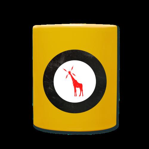 Unofficial GIRAFFE Roundel - Yellow Label Coffee - Full Colour Mug