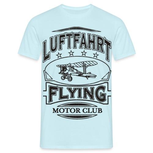 Luftfahrt Flieger Motor Club - Männer T-Shirt