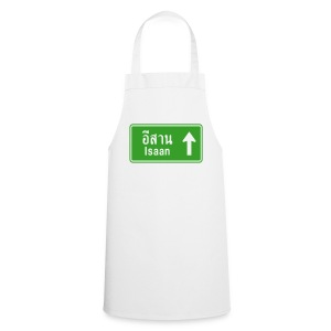 Isaan, Thailand / Highway Road Traffic Sign - Cooking Apron