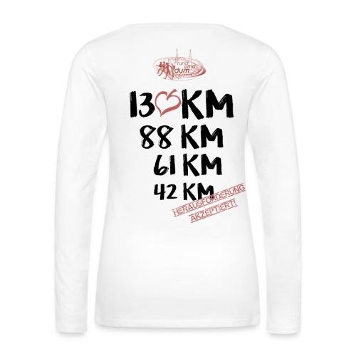 Longsleeve Frauen - Frauen Premium Langarmshirt