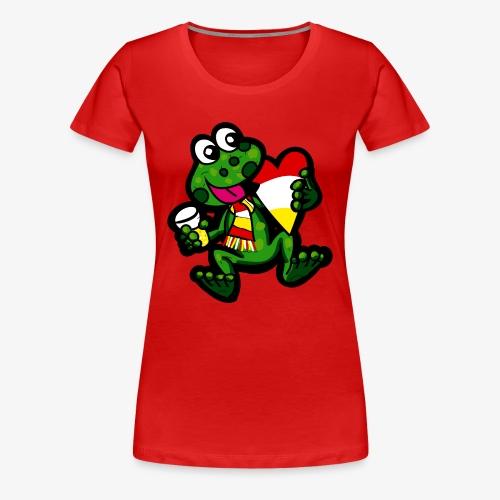 Oeteldonk Kikker V - Vrouwen Premium T-shirt