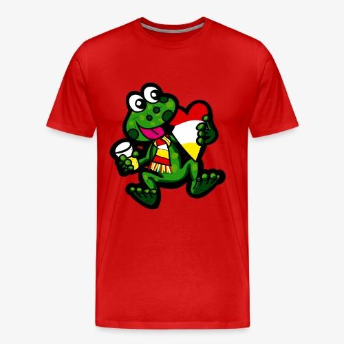 Oeteldonk Kikker K - Mannen Premium T-shirt