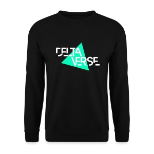 Deltaverse Sweat-Shirt Noir - Sweat-shirt Homme