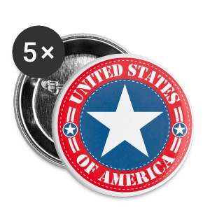 United States - Badge grand 56 mm
