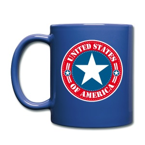 United States - Tasse en couleur