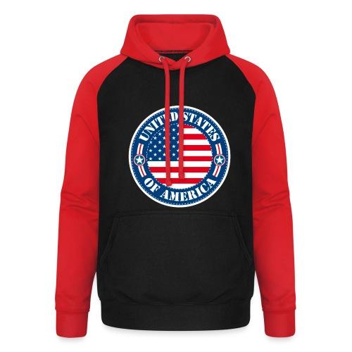 United States - Sweat-shirt baseball unisexe