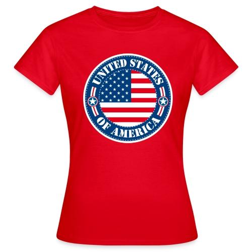 United States - T-shirt Femme