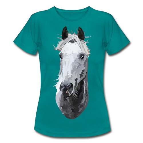 Pferd Reliable Man - Frauen T-Shirt