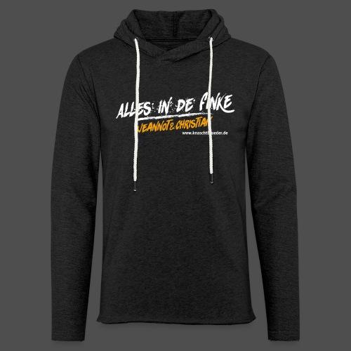 Kapuzensweatshirt Alles in de Finke - Leichtes Kapuzensweatshirt Unisex