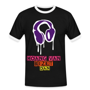 Casque Musika - T-shirt contraste Homme