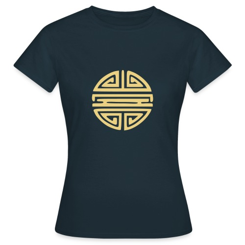 Camiseta de mujer con sol chino - Camiseta mujer