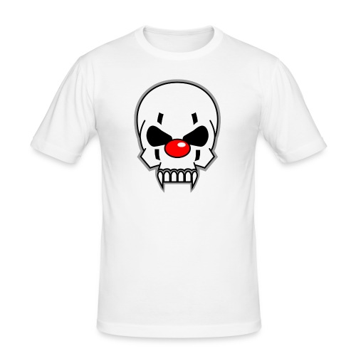 Horrorclown - Männer Slim Fit T-Shirt