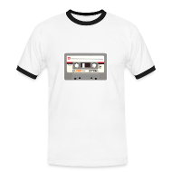 T-Shirts ~ Men's Ringer Shirt ~ Retro Cassette