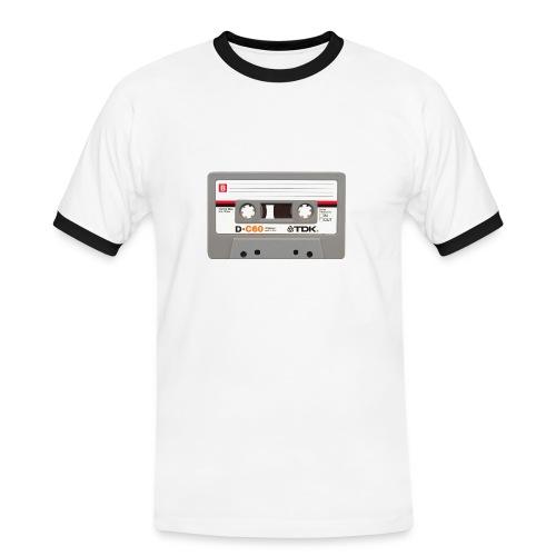 Retro Cassette - Men's Ringer Shirt
