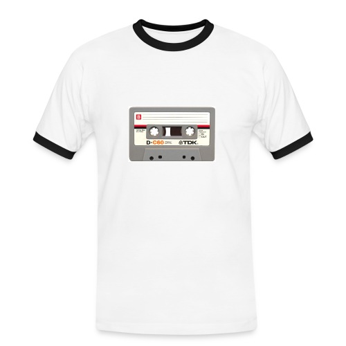 Retro Cassette - Men's Ringer Shirt