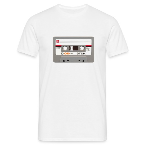 Retro Cassette - front only - Men's T-Shirt