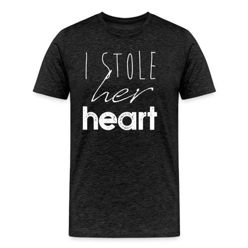 Stole Her Heart - Männer Premium T-Shirt