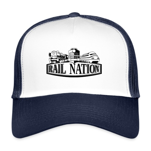 Kappe Rail Nation Logo - Trucker Cap
