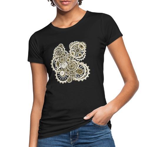 Steampunk Gears on your Gear No.2 Vintage Women's Organic T-Shirt - Women's Organic T-Shirt
