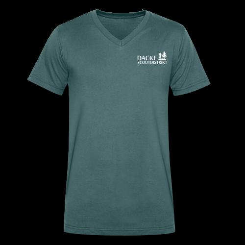 Ekologisk T-shirt - Ekologisk T-shirt med V-ringning herr från Stanley & Stella