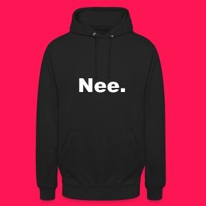 Unisex hoodie Nee. - Hoodie unisex