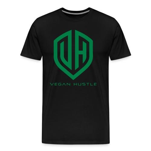 MEN'S VEGAN HUSTLE T-SHIRT (click for more colours) - Men's Premium T-Shirt