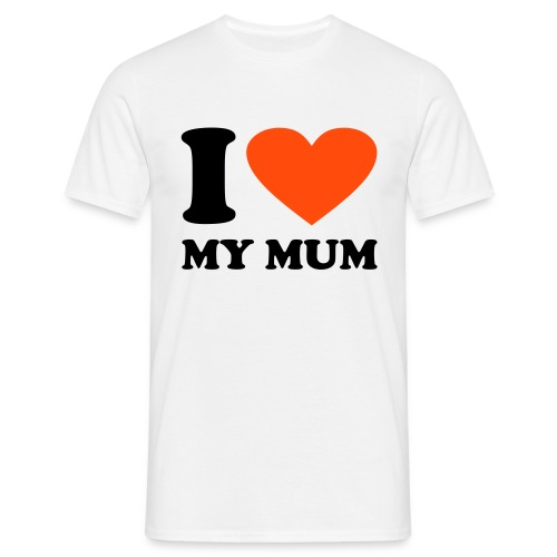 Men's Tee (iheartmymum) - Men's T-Shirt