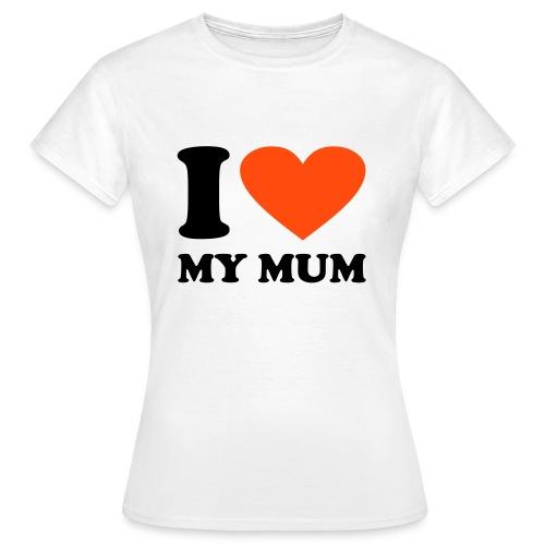 Women's Tee (iheartmymum) - Women's T-Shirt