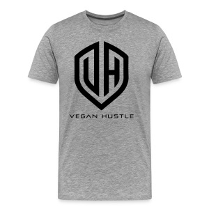 MEN'S VEGAN HUSTLE T-SHIRT (click for more colours) - Men's Premium T-Shirt