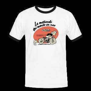 La motarde qui monte au nez