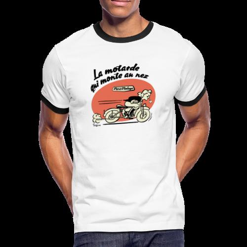 La motarde - T-shirt contrasté Homme
