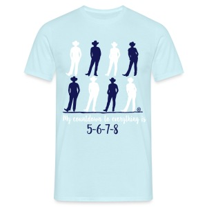 My Countdown - Linedance - Männer T-Shirt