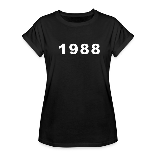 1988 - Vrouwen oversize T-shirt