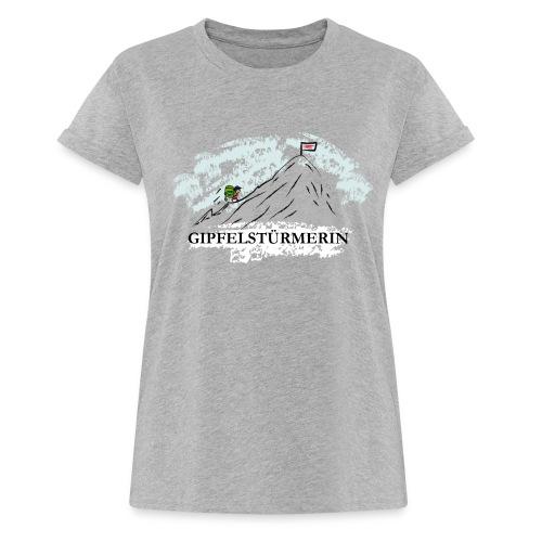 Frauen Oversize T-Shirt: Gipfelstürmerin - Frauen Oversize T-Shirt
