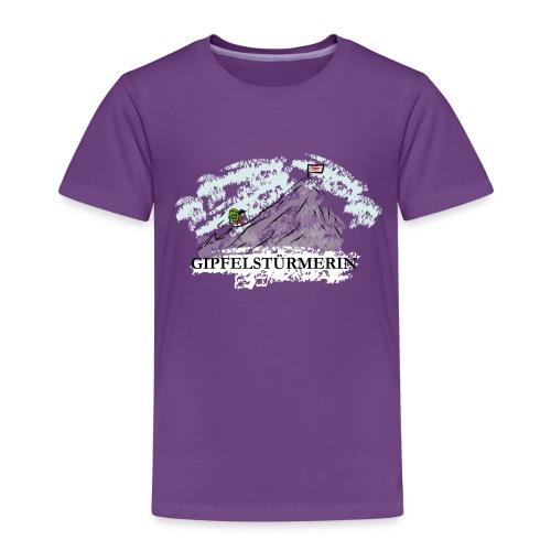 Kinder T-Shirt: Gipfelstürmerin - Kinder Premium T-Shirt