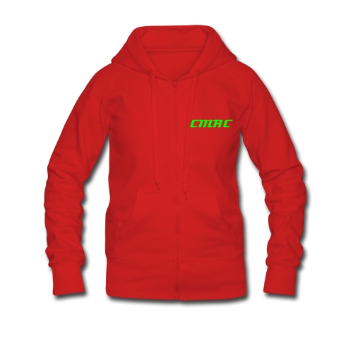 womens cornwallmrc pit crew hooded jacket - Women's Premium Hooded Jacket