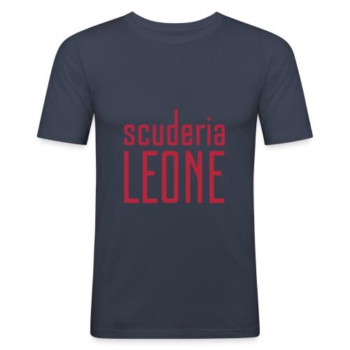 Scuderia Leone RED_navy Slimfit - Men's Slim Fit T-Shirt
