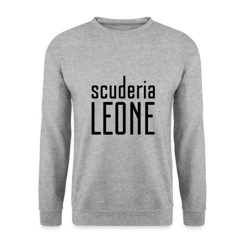 Scuderia Leone BLACK_white Sweater - Men's Sweatshirt