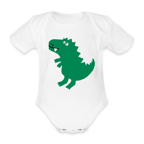 Drachen-Body - Baby Bio-Kurzarm-Body