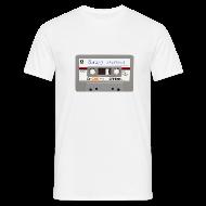 T-Shirts ~ Men's T-Shirt ~ Retro cassette - front and back