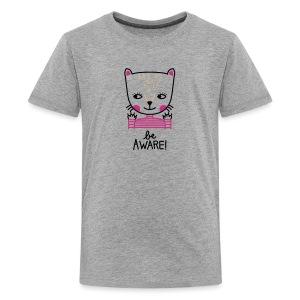 Teenyshirt: Be aware! - Teenager Premium T-Shirt